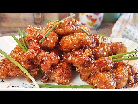 Super Easy Chinese Honey Chicken Recipe 蜜糖鸡 Orange Chicken Inspired