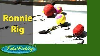 Pescuit la crap - Montura Ronnie ( Ronnie rig )