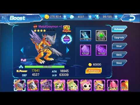 Digimon: Digital World Adventure - ADVANCE DIGIMON +1 TO INCREASE BATTLE POWER