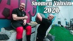 Suomen Vahvin Mies 2020 | Tekniikat haltuun feat. Paavo Paaso | Euroopan Vahvin Mies -90kg