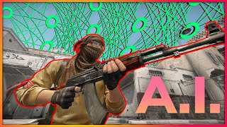 AI Learns To PĮay CS:GO By Watching Humans Play!