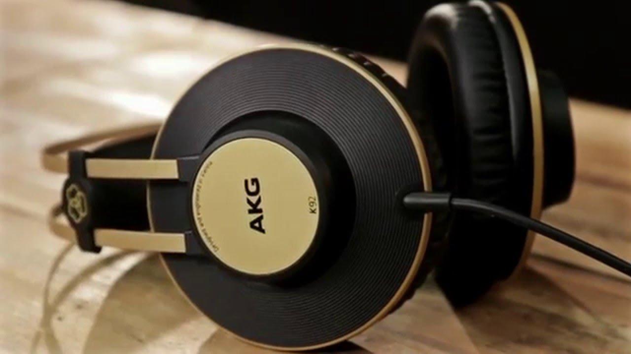 AKG K92 Black Gold