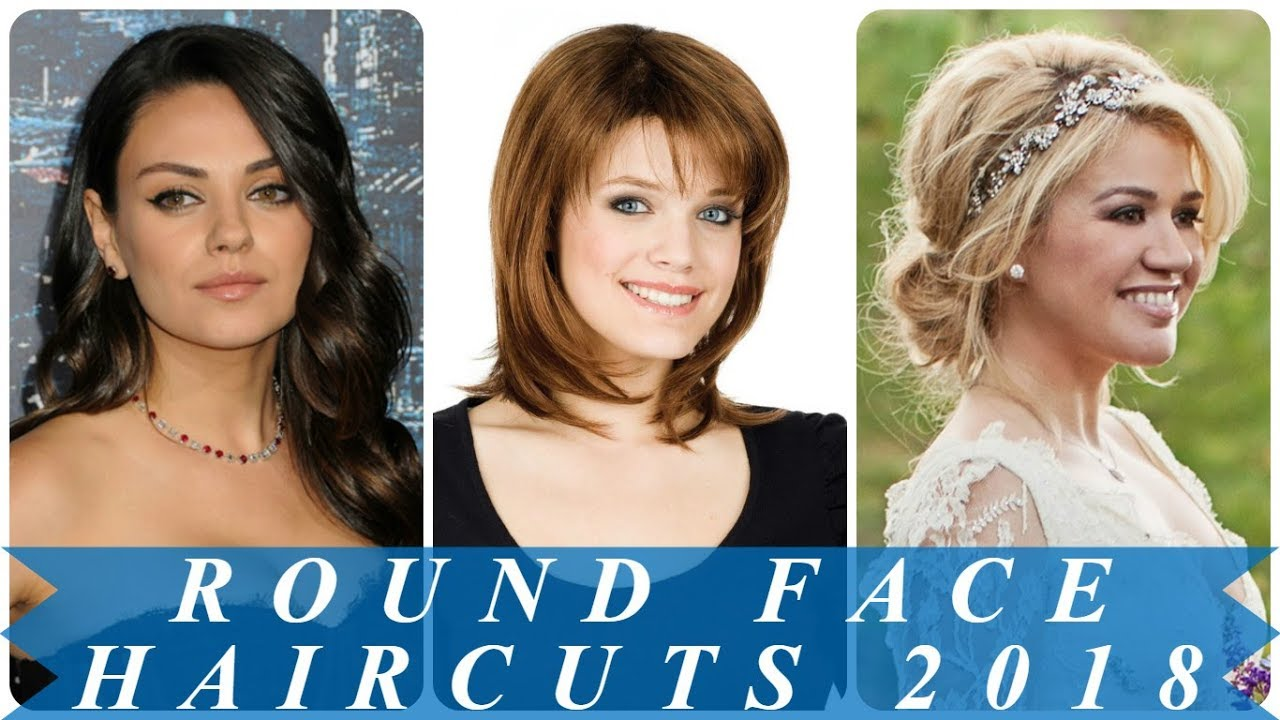 18 popular haircut for round face women 2018 - youtube