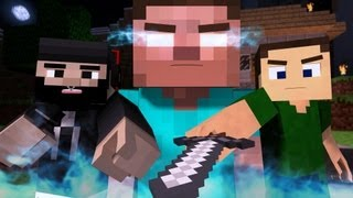 "♪ ""The Miner"" - A Minecraft Parody of The Fighter by Gym Class Heroes (Music Video)"