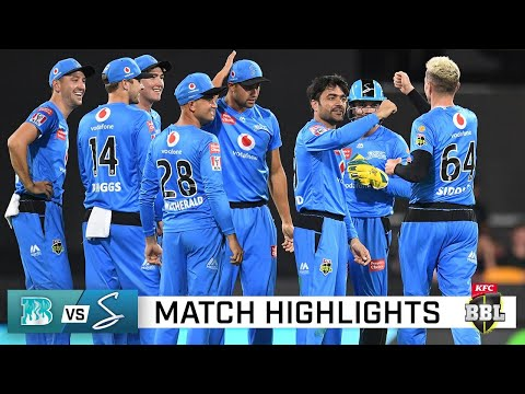 Peirson almost pulls off miracle as Heat fall to Strikers | KFC BBL|10