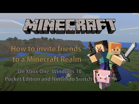 How to Invite Friends into a Minecraft Realm on Xbox, Windows 10