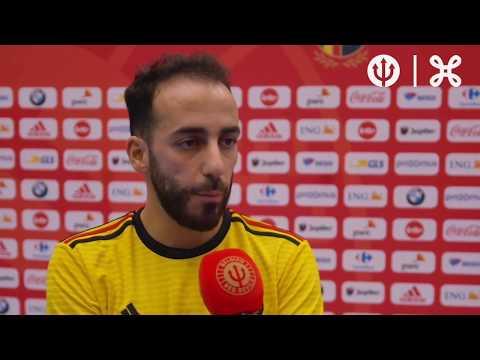 #Futsal Interviews after friendly game Belgium-Georgia (1-1)