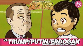 Monsters of Kreisklasse: Trump, Putin, Erdogan und ein richtiger Diktator vs. Borussia Hodenhagen