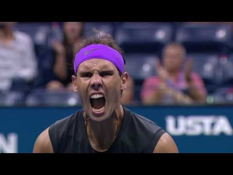 Diego Schwartzman Vs Rafael Nadal | US Open 2019 Quarter-Finals Highlights