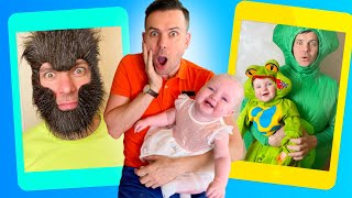 Five Kids Magic Masks + more Children's Videos and Songs