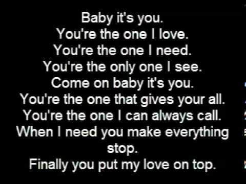 Love on top lyrics by beyonce