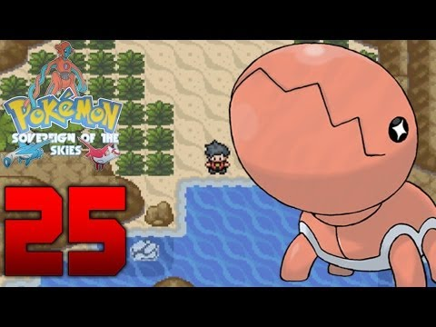 Let's Play Pokemon Sovereign of the Skies Part 25 Schatzinsel