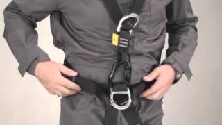 Instrukcja zakładania szelek bezpieczeństwa P90