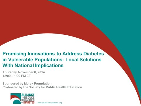 Promising Innovations to Address Diabetes in Vulnerable Populations