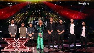Άνω Κάτω και Liak and The Cover στη διαδικασία αποχώρησης | Live 8 | X Factor Greece 2019