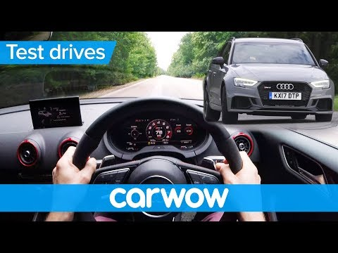 Audi RS 3 2018 POV review with jump | Test Drives