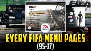 HISTORY OF FIFA | 95-17 |