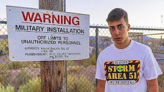 Area 51 || Zona de MAXIMA SEGURIDAD (BASE MILITAR)
