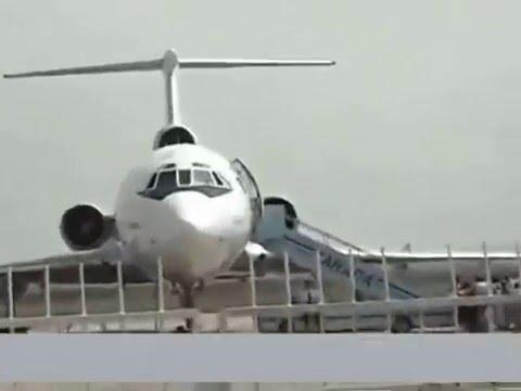 Ту-154 Ra-85185 за 30 минут до авиакатастрофы