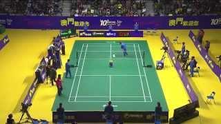 2015 Macau Open | Badminton F M5-MD | Ang/Sap vs Ko/Shin