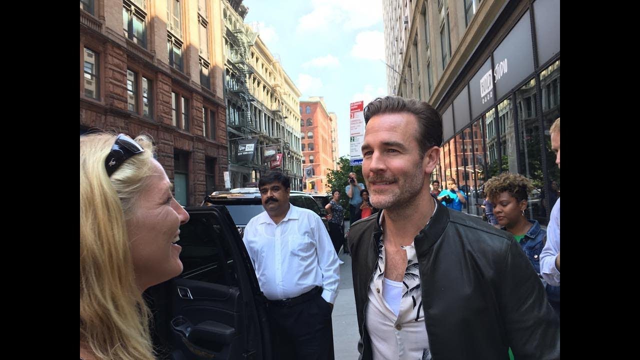 Download JAMES VAN DER BEEK - DAWSON'S CREEK - WHAT WOULD DIPLO DO -  WITH FANS IN NYC
