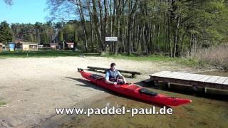 Kajak - Einweisung Wander Kajak mit Paddel Paul