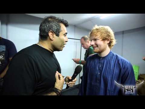 Ed Sheeran Interview - Fly Music Festival