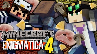 Minecraft Enigmatica 4 - PIZZA WARS #53 (Minecraft Modded)