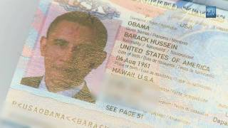 Obama's Passport Close Up