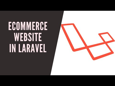 E Commerce Website Php(Laravel): Demo