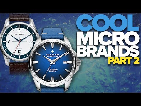 Cool Microbrands Part II (2019)