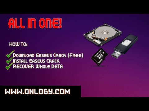 How to RECOVER DATA from HARD DRIVE / USB / SD CARD + EaseUS Data Recovery FREE (CRACK VERSION)