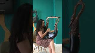 Bird Lyre. Improvisation. Bettina Joy de Guzman
