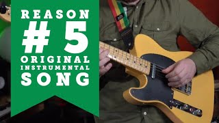 Reason #5: Instrumental live music performance (Live Looping)