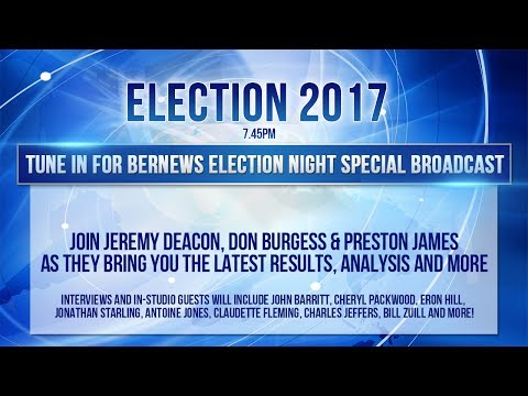 Bernews Live Election Night Special, July 18 2017