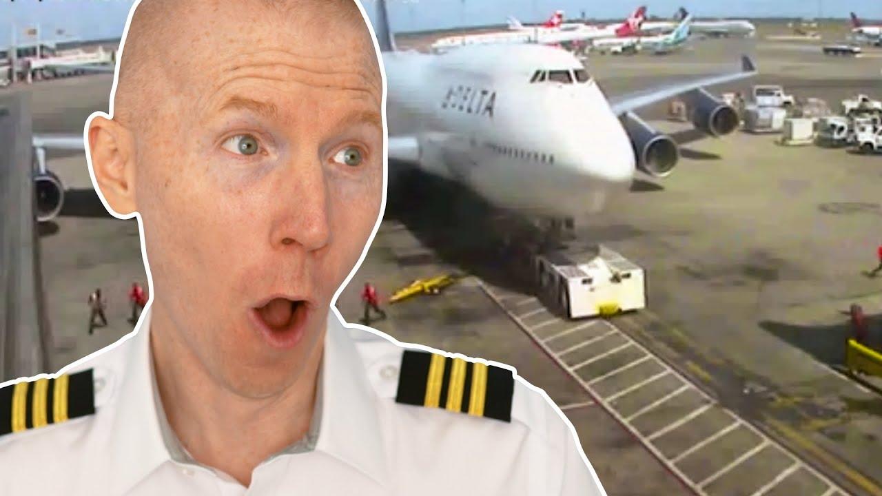 Delta 747 CRASHES into Tug   Viral Debrief