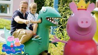 Peppa Pig A Look Inside Peppa Pig World At Paultons Park Uk Youtube