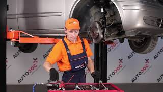 Montaggio Biellette Barra Stabilizzatrice posteriore e anteriore MERCEDES-BENZ VITO Bus (W639): video gratuito