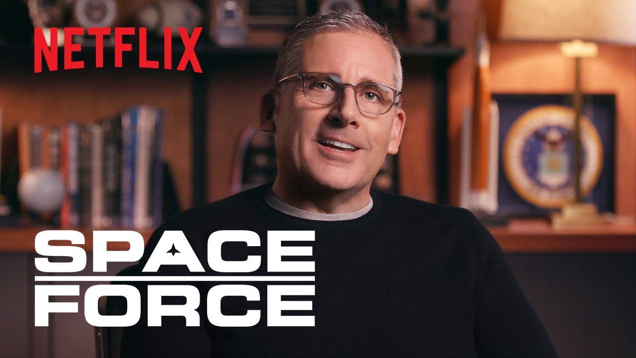 Space Force | Steve Carell, Greg Daniels & More On New Workplace Comedy I Netflix Is A Joke