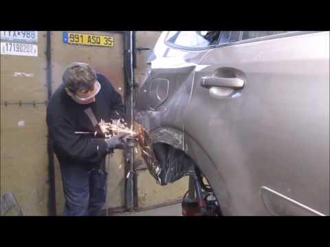 Subaru Forester. Body repair. Ремонт кузова.
