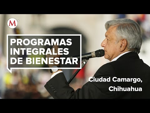 AMLO entrega Programas Integrales del Bienestar en Ciudad Camargo, Chihuahua
