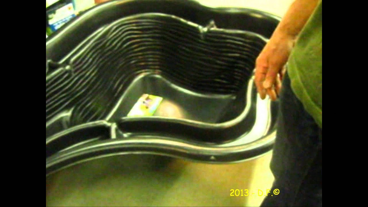bassin pvc explication et conseil de placement oh green. Black Bedroom Furniture Sets. Home Design Ideas