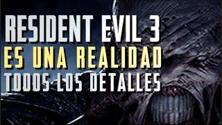 ¡RESIDENT EVIL 3 REMAKE ES REAL!    Detalles del tráiler y datos sobre el ESPERADO juego de CAPCOM