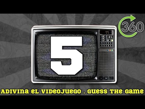 Adivina el videojuego | Guess the game #5 | 360°
