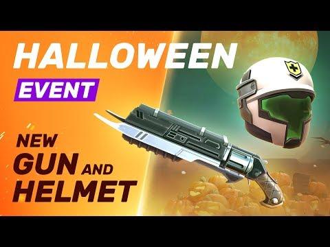 Halloween Event - New Gun and Helmet - Guns of Boom