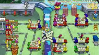 Diner Dash: Seasonal Snack Pack - Coral Cove Cafe Level 10