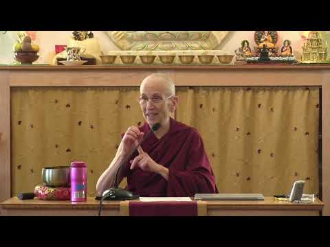 """07A """"Illumination of the Thought"""" Review Session with Ven. Thubten Chodron 10-25-20"""