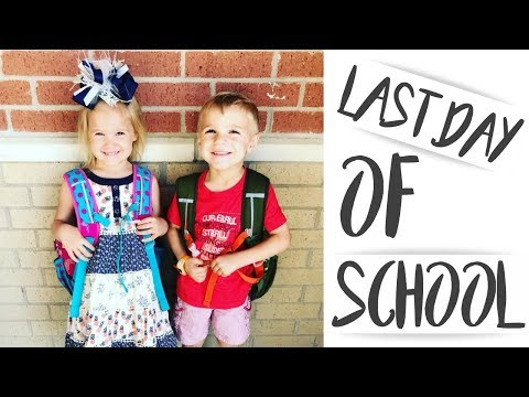 THE TWINS LAST DAY OF SCHOOL!!