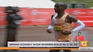 Eliud Kipchoge wins his 4th London Marathon title