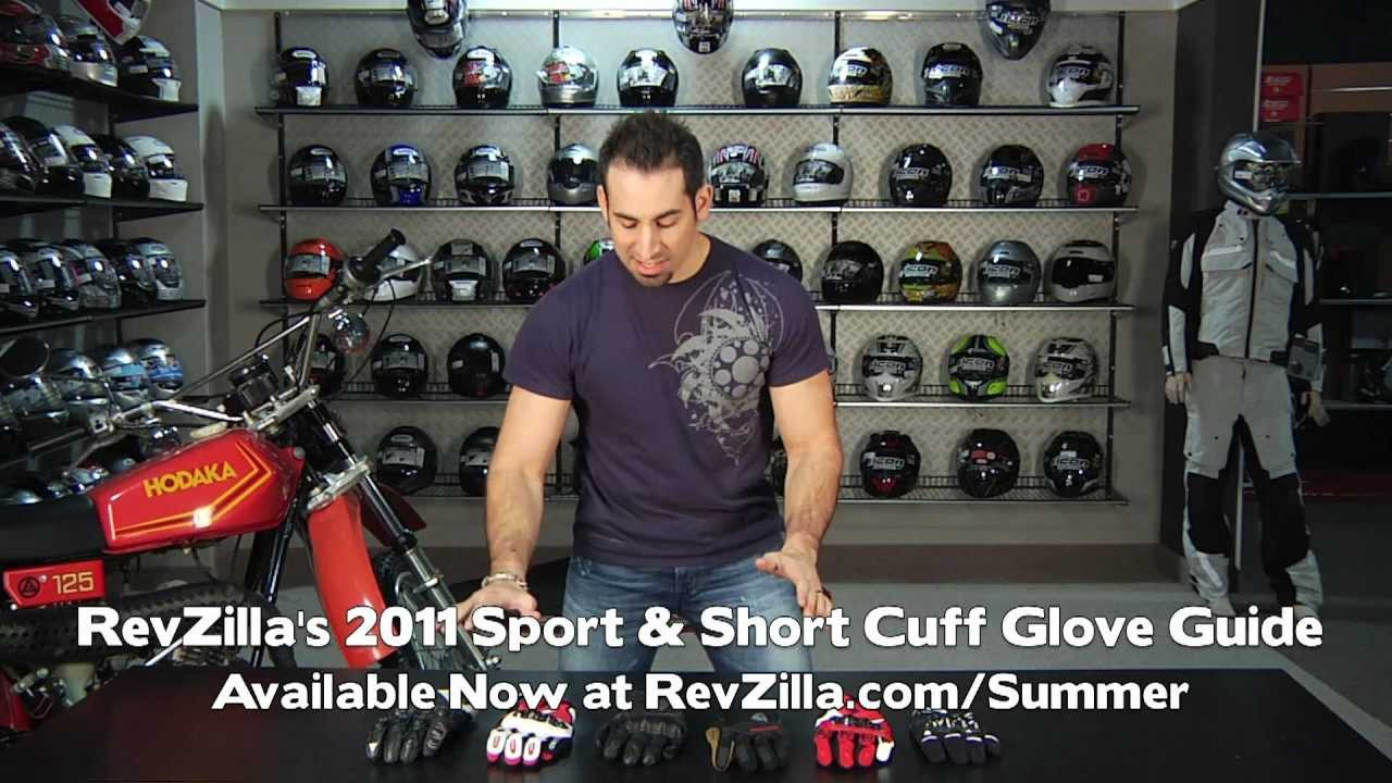 Motorcycle gloves guide - Motorcycle Sport Short Cuff Glove Guide 2011 At Revzilla Com